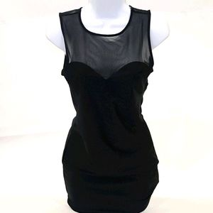 Forever21 Black Mini Cocktial Dress